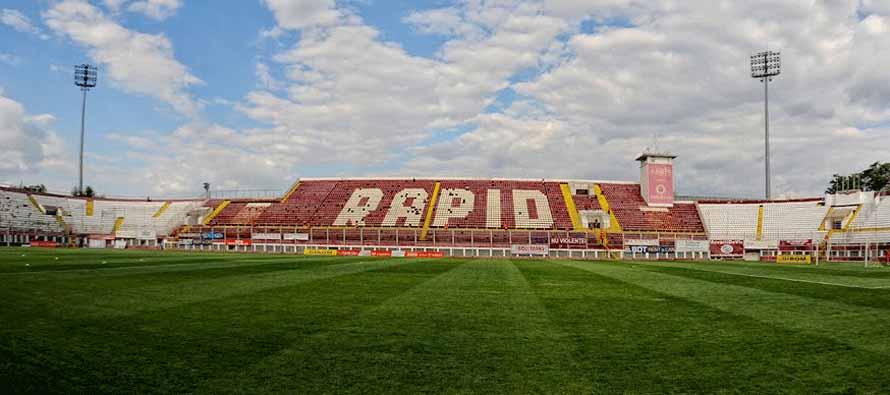 Stadionul Giulesti Valentin Stanescu main stand
