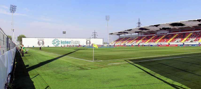 Stadionul Marin Anastasovici's pitch