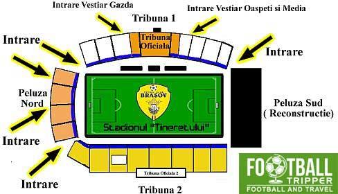 Stadionul Silviu Ploeșteanu seating chart