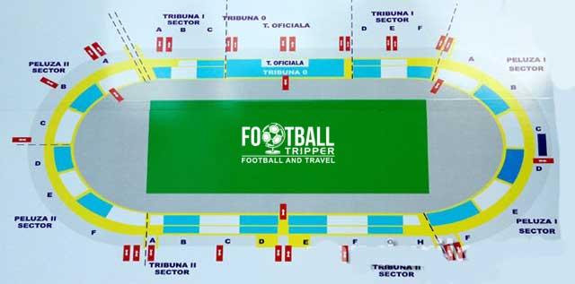 Stadionul Tudor Vladimirescu seating chart