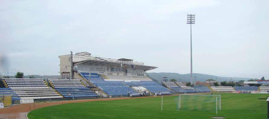 Stadionul Tudor Vladimirescu Main Stand
