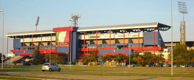 Exterior of Stadium Mapei