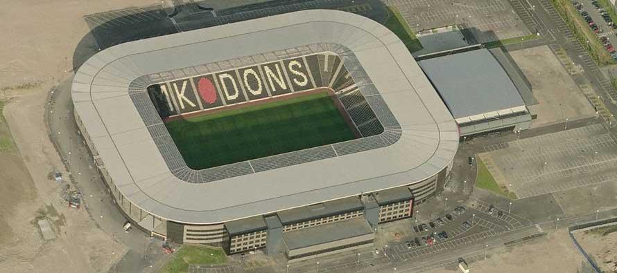 Stadium MK Aerial