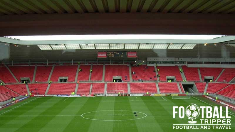 Stands. The Stadium Of Light ...