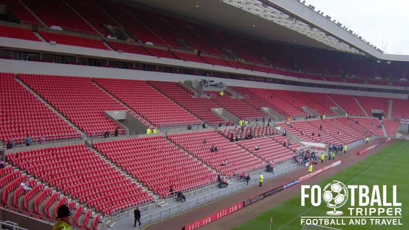 Beautiful Stands. The Stadium Of Light ...