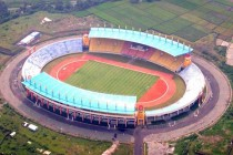 Aerial view of Stadion Jalak Harupat