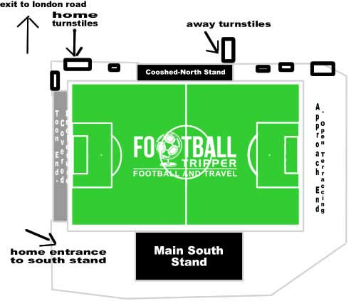 Stair Park Stadium Seating Plan