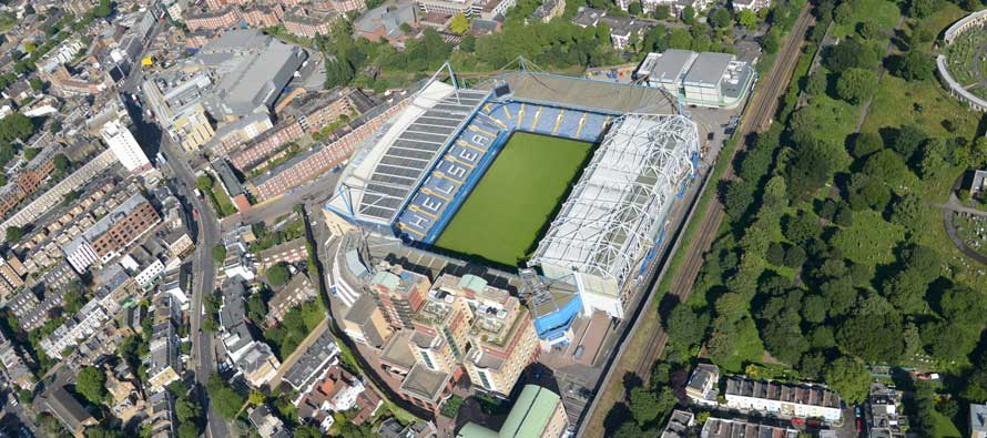 Stamford Bridge Aerial