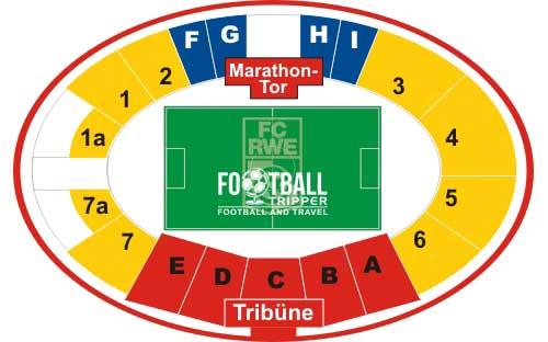 Steigerwaldstadion seating plan