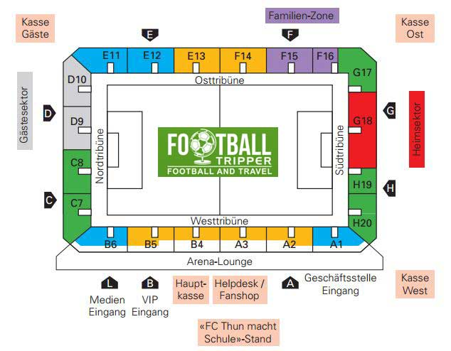 Stockhorn Arena Seating Chart