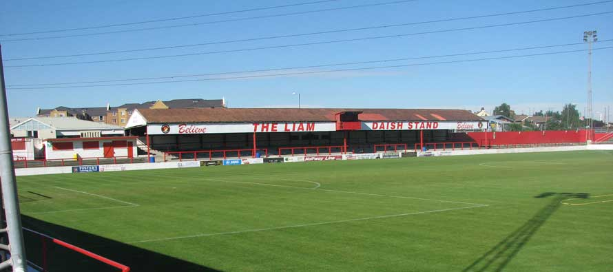 Stonebridge road's main stand