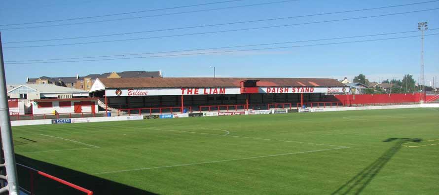 Stonebridge road's main stand