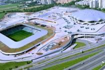 Aerial view of Stozice Stadium