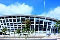 Exterior of Sultan Abidin Stadium