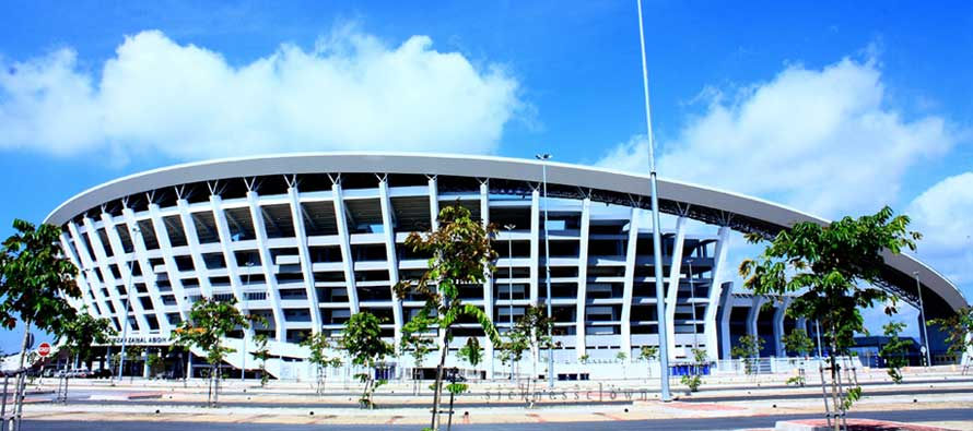 Exterior of Sultan Abidin Stadium