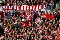 Sunderland supporters inside the stadium