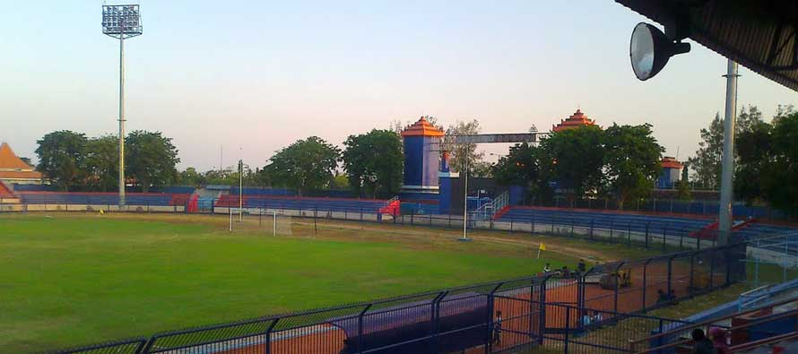 A look inside Surajaya Stadium