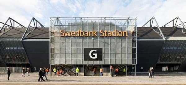 Swedbank Stadium's exterior