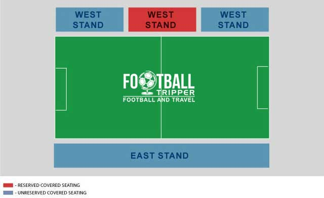 Tallaght Stadium seating plan