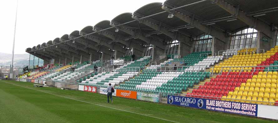 Tallaght Stadium main stand