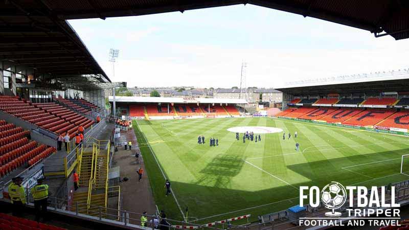 Tannadice Park Stadium Dundee Utd F C Football Tripper