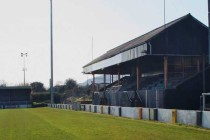 The main stand of Taylors Avenue Stadium