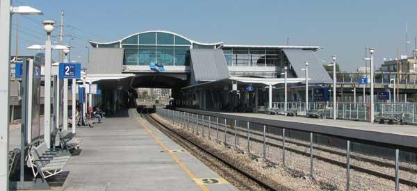 Tel Aviv HaHagan train station
