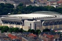 Parken Stadion Copenhagen Aerial view