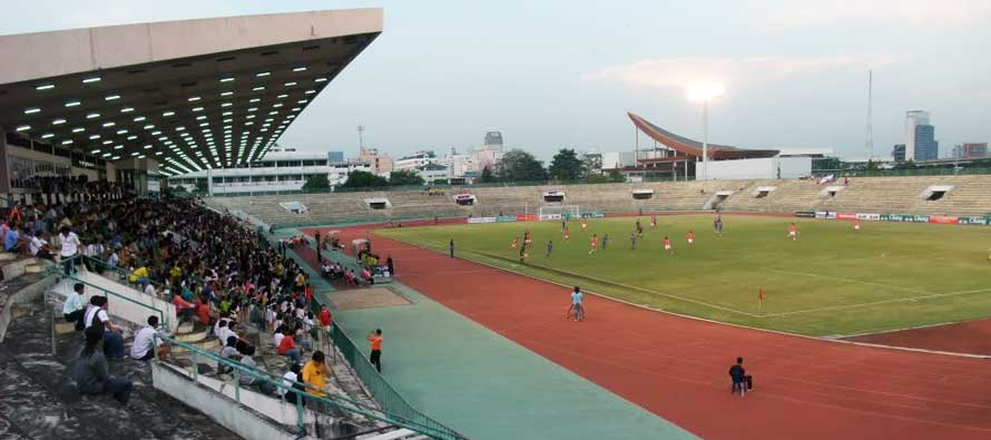 Inside look at Thai's army stadium