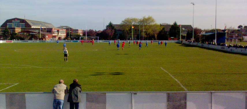 The Airfield Stadium in Broughton