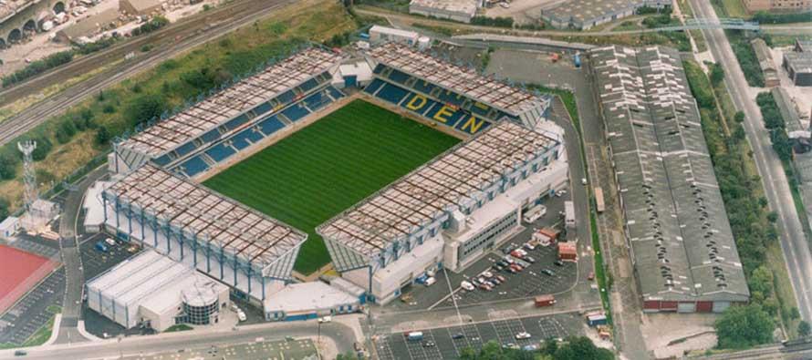 Inside Millwall's The Den Stadium