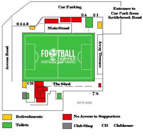 Lamb Ground Seating plan