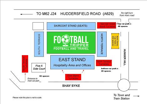 The Shay Stadium Seating plan