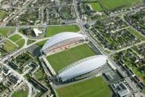 Aerial view of Thomond Park