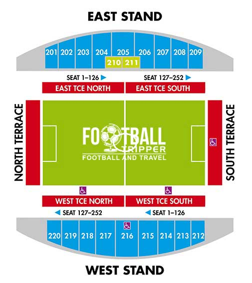 Thomond Park Seating Plan