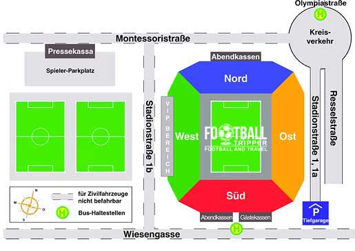 Tivoli Stadium Seating Map