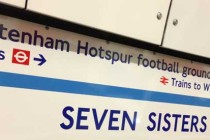 Inside Seven Sisters Tube Station