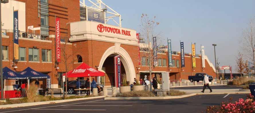 Toyota Park Main Entrance