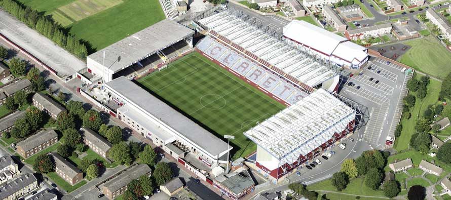 Turf Moor from the air