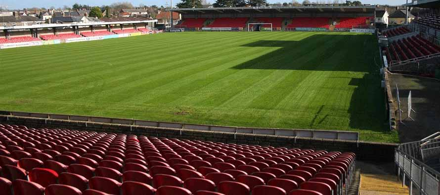 Turners Cross Stadium pitch view