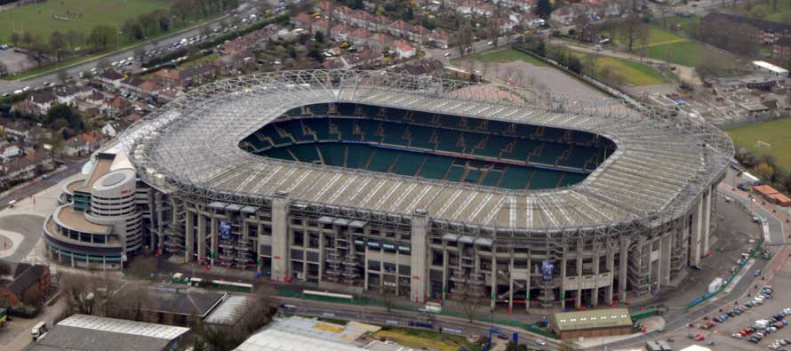 Twickenham from above.