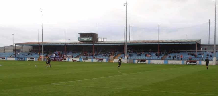 United Park Hunky Dorys pitch