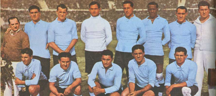 Uruguay 1930 World Cup Winning Team