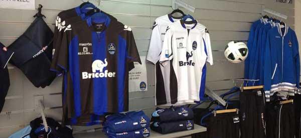 Inside Latina Calcio Club Shop