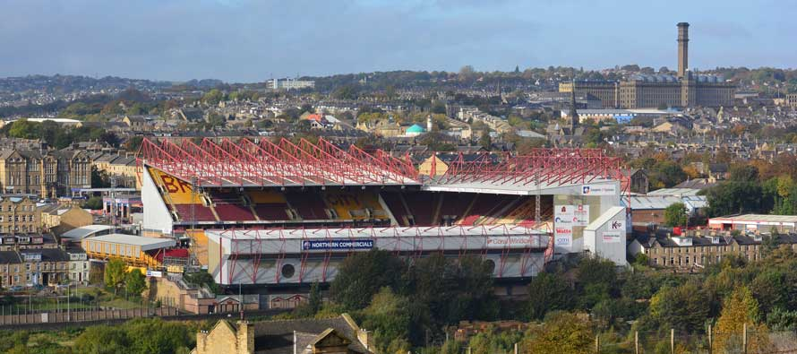 valley parade main stand