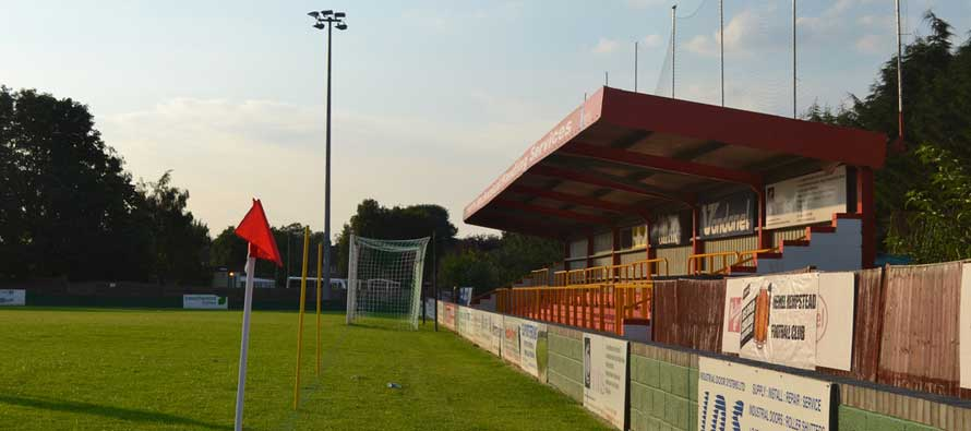 inside hemel's vauxhall road ground