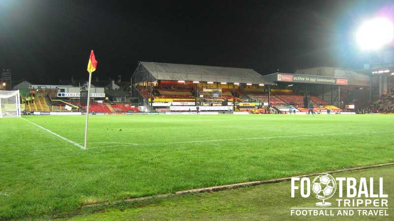 Watford s ground is comprised of the following four sections the