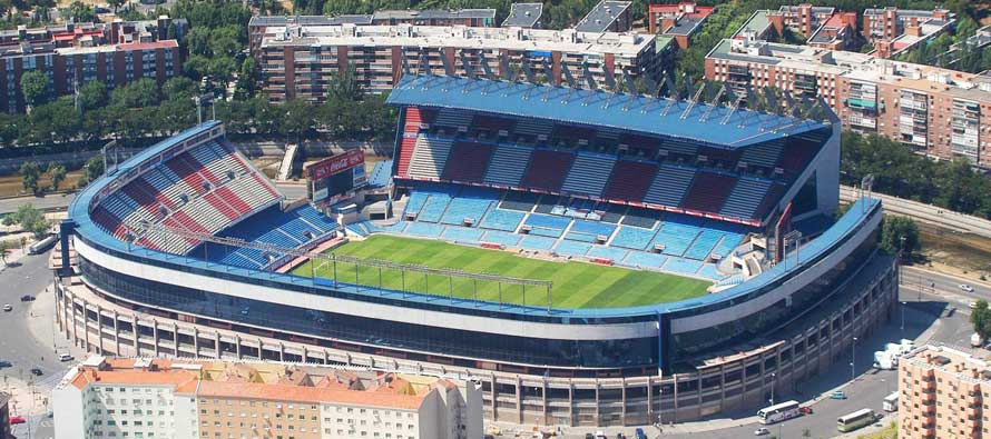 Aerial View of Estadio Vicente Calderon