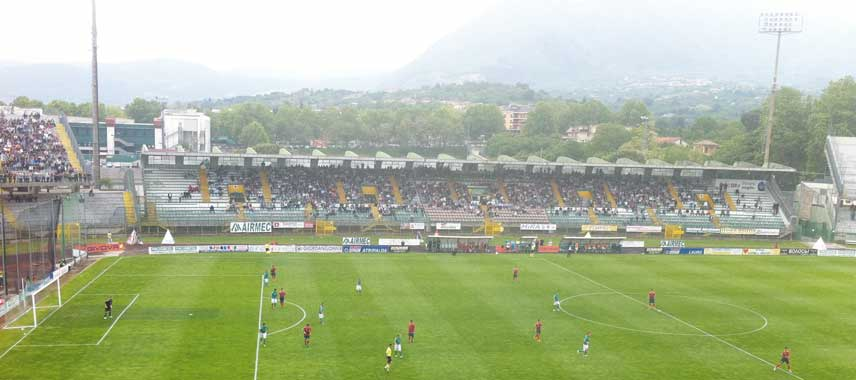 Main stand of Vigor Lamezia