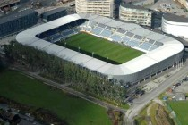 aerial view of viking stadion